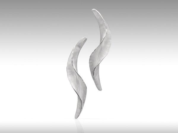 Flow stud earrings by Rauni Higson