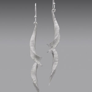 Rauni Higson Spiral Icicle Drop Earrings