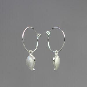Conch Hoop Earrings by Rauni Higson