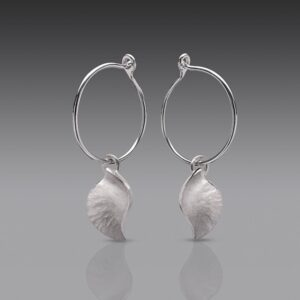 Rauni Higson Conch Hoop earrings